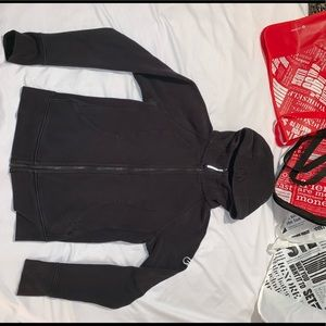 LuLuLemon Black Scuba Jacket Size 8